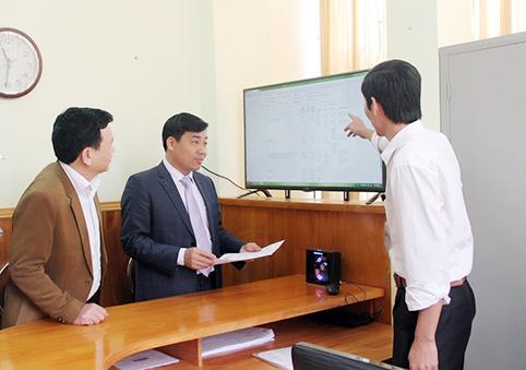 """228 Sở Xây dựng Bắc Giang khai trương Bộ phận """"Một cửa điện tử"""""""